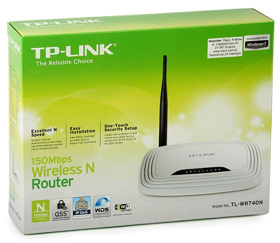 Access Point Tp Link Tl Wr740n W Router 4p Switch