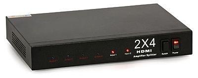 Signal-HD HDMI Switcher-Splitter 2x4   TV & TV-SAT \ HDMI \ Switches