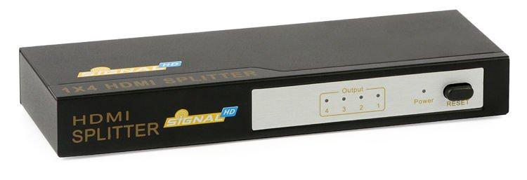 Splitter HDMI 1x4 | TV & TV-SAT \ HDMI \ Splitters | Monitoring