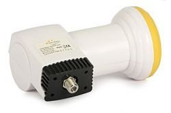 Single Full Band LNB: Golden Interstar GI-201 (0.3 dB)