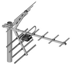 TV antenna UHF 11-element Dipol 11/21-69